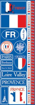 France Passports Stickers