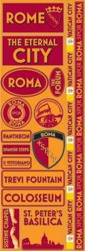 Rome Passports Stickers
