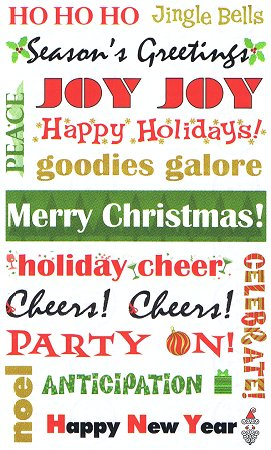cheer quotes. Christmas Cheer Quotes Stickers