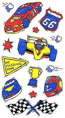 Race Car Stickers