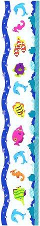 Sea Creatures Borders Stickers