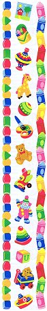 Toddler Toys Borders Stickers