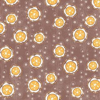 Orange A'peel Dizzy Paper