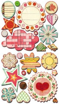 Sweet Treats Elements Stickers