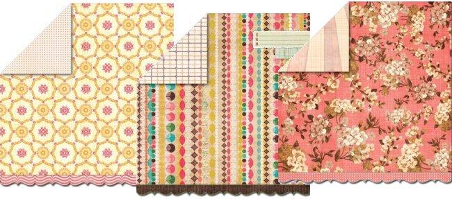Bouquet Paper Pack 12x12