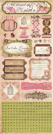 Sweet Girl Stickers