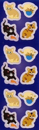 Cute Kitty Cats Stickers