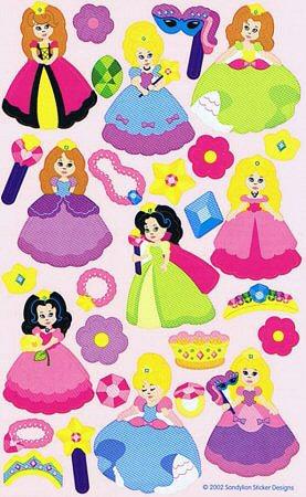Princess Girls Stickers