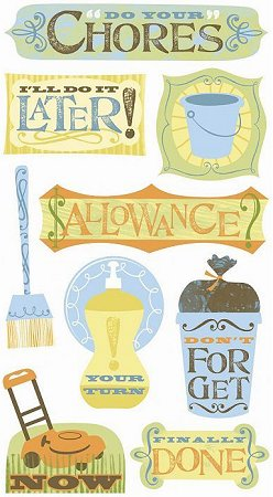 Chores Stickers
