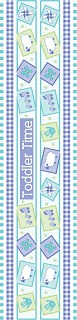Toddler Time Borders Stickers