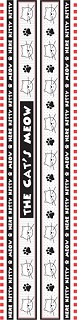 It's A Cat's Life Borders Stickers