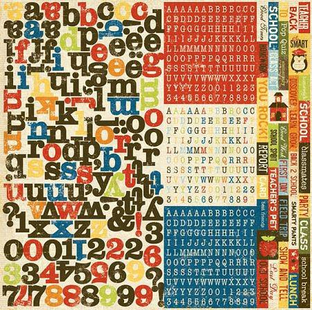 Elementary School Alphabet Stickers