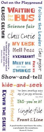 School Recess Messages Stickers