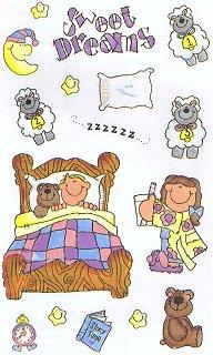 Sweet Dreams Stickers