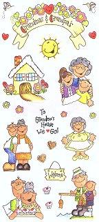 Grandmas & Grandpas Stickers