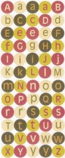 Christmas Alphabet Coasters