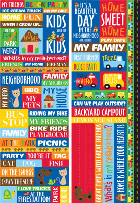 Neighbourhood Quotes Stickers