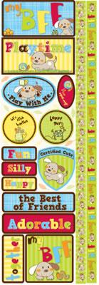 My Bff Dog Stickers