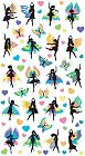 Shiny Fairy Dancers Stickers