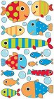 Shiny Baby Fish Stickers