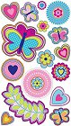 Butterfly Shimmer Stickers