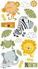 Jungle Buddies Stickers