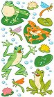 Shiny Frogs Stickers