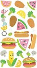 Summer Bbq Stickers