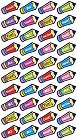 School Pencils Stickers