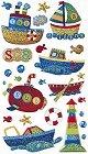 Toy Boats Epoxy Stickers