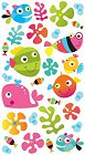 Fun Fish Epoxy Stickers