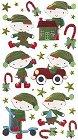 Santas Toy Shop Epoxy Stickers