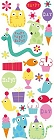 Puffy Party Animals Stickers