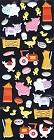 Puffy Baby Farm Animals Stickers