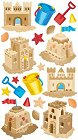 Sandcastles Stickers