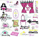 Pretty As A Princess Stickers
