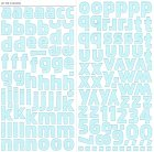 Apollo Blue Alphabet Stickers