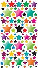 3D Shiny Stars Stickers
