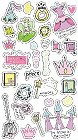 3D Perfect Princess Stickers