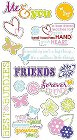 3D Forever Friends Stickers
