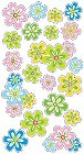 3D Pretty Posies Stickers