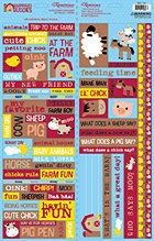 Farmyard Quotes Stickers