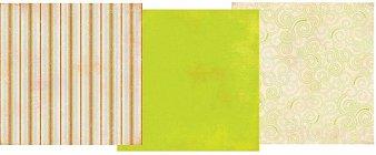 Romani Green Paper Pack 12x12