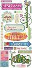 Indie Bloom Words Stickers