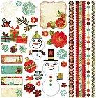 Jovial Christmas Stickers