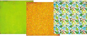 Lime Howdy Paper Pack 12x12