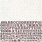 Oxford Alphabet Stickers