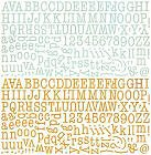 Picadilly Alphabet Stickers