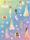 All Dressed Up Barbie Stickers