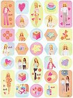 Gorgeous Barbie 2 Stickers